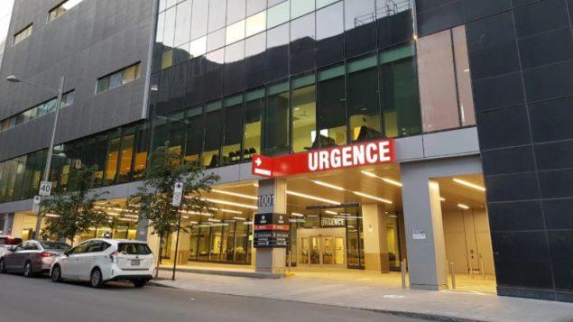 L'urgence du Centre hospitalier de l'Université de Montréal (CHUM) -  Photo : Radio Canada
