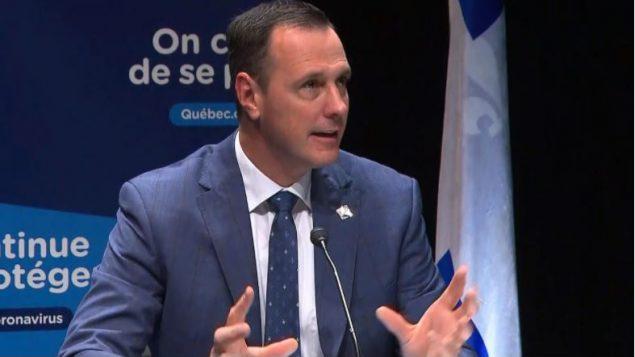 Jean-François Roberge, ministre de l'Éducation du Québec - Radio Canada