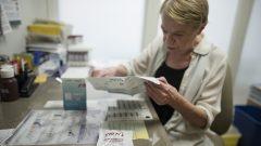 On estime que de 10 à 20% des personnes vivant avec le VIH au Canada ne connaissent pas leur statut - Photo (archives) 7 août 2019. Toronto. La Presse canadienne / Tijana Martin