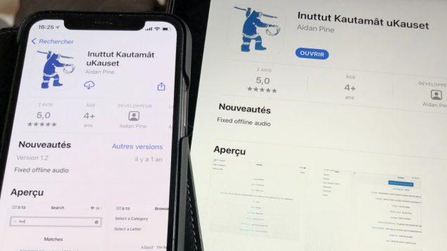 Une application pour apprendre l'inuktitut du Labrador sur votre téléphone