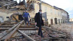 Les zones les plus touchées sont la localité de Petrinja et ses alentours. Le séisme a été ressenti dans les pays voisins - AP Photo