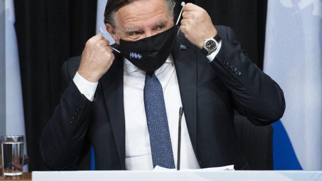 Le premier ministre du Québec, François Legault, devrait annoncer les nouvelles mesures ce mercredi en conférence de presse - archives - La Presse canadienne / Jacques Boissinot
