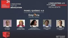 L'expertise québécoise dans l'industrie 4.0 sera présentée lors d'un panel qui sera organisé le 27 janvier 2021 pendant la 2e ''Global Industry 4.0 Conference'' à Fès au Maroc - Photo : Courtoisie
