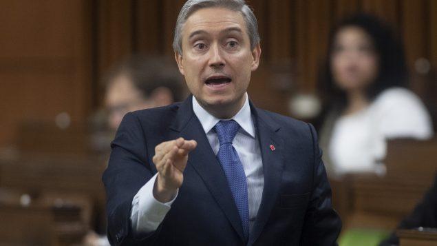 Le ministre de l'Innovation, des Sciences et de l'Industrie, François-Philippe Champagne - Photo (archives) : La Presse Canadienne / Adrian Wyld
