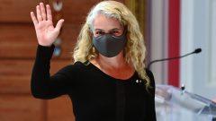 Julie Payette, 29e gouverneure générale du Canada, a démissionné le 21 janvier dernier - Photo (archives) / La Presse Canadienne / Sean Kilpatrick