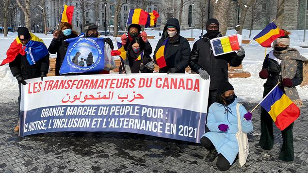 La diaspora tchadienne du Canada appelle au retour à un régime civil au Tchad