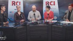L-R: guest Eilis Quinn, Marie-Claude, Levon, Marc