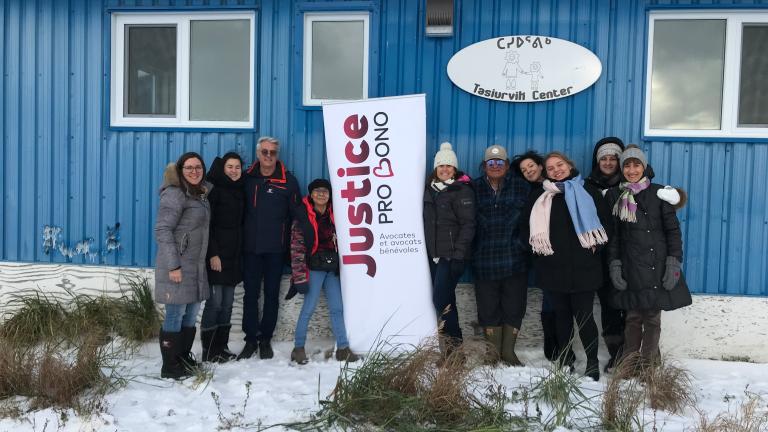 Des juristes bénévoles viennent en aide aux communautés du Nunavik, dans le Nord québécois