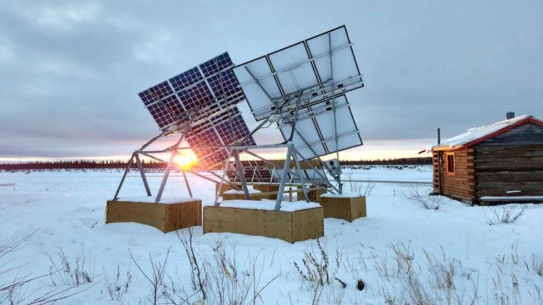 L'énergie solaire est arrivée à Old Crow dans le Grand Nord canadien