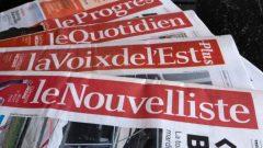 مجمعة كابيتال ميديا تمتلك ستّ صحف صادرة بالفرنسيّة في عدد من مناطق كيبيك/Paul Chiasson/PC