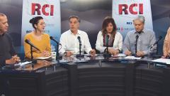 أسرة القسم العربي وضيوف البرنامج ياسمين بوقرش ورابح مولة/RCI