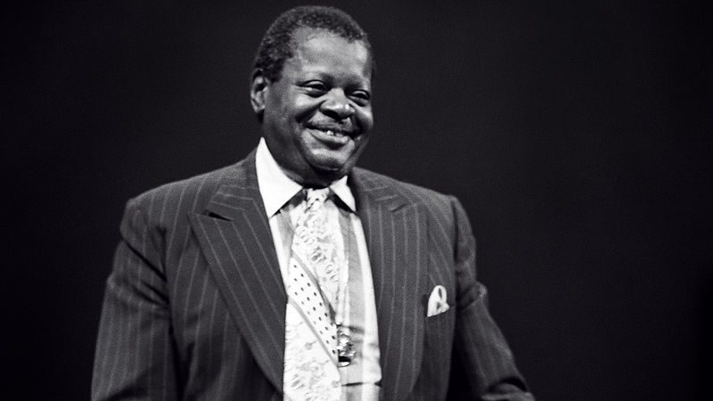 Oscar Peterson in 1977 Photo: Tom Marcello Webster, New York, USA