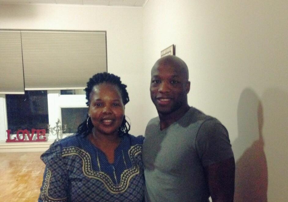 Sipho Ibeakanma et Cleopas Ncube
