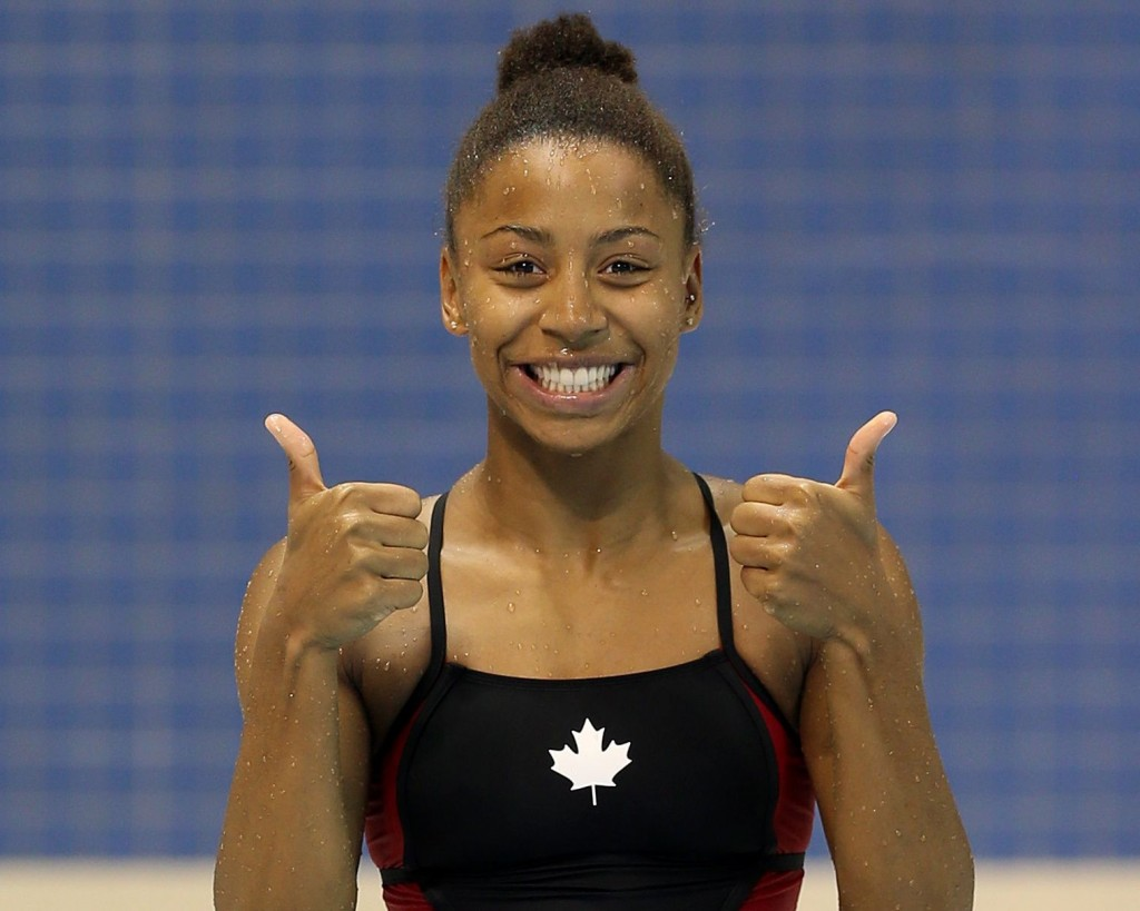 Jennifer Abel, Jeux Pan Am Toronto 2015 (Photo : Vaughn Ridley/Canada Diving)