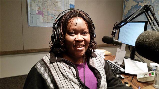 Isabelle Nkapnang Photo : ICI Radio-Canada