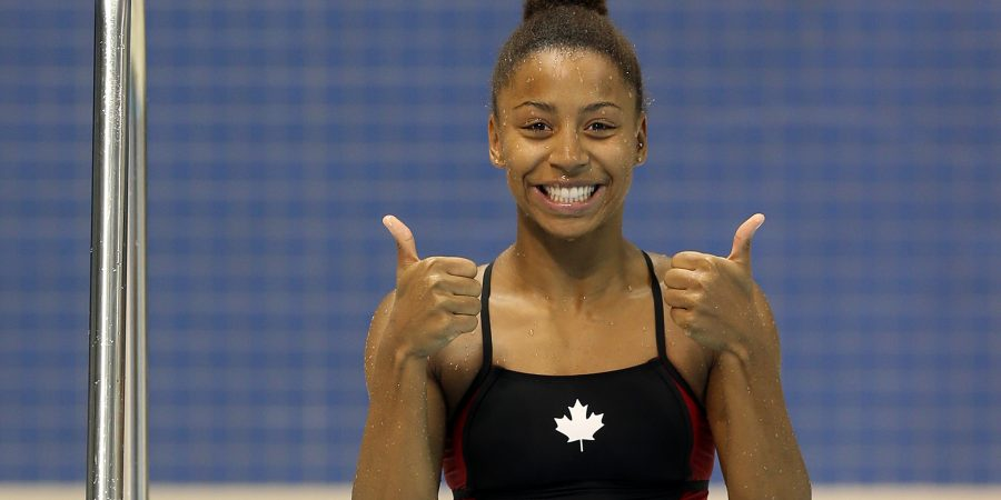 Jennifer Abel,  Jeux Pan Am Toronto 2015   (Photo :  Vaughn Ridley/Canada Diving)