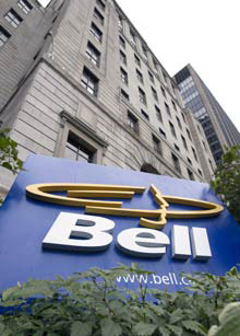 المركز الرئيسي لشركة Bell Canada في مونتريال (Ryan Remiorz/Canadian Press)