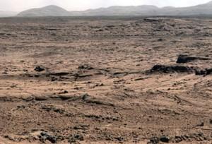 صورة المريخ التقطتها rover Curiosity في خليج يلونايف (الناسا)