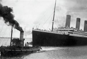 غادرت التيتانيك مرفأ Southampton في العاشر من إبريل نيسان 1912 (AFP/Conseil municipal de Southampton)