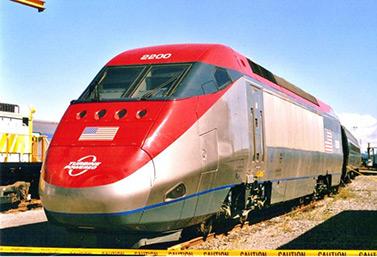 القطار النفاث لشركة بومباردييه في صورة تعود إلى العام 2006 (بومباردييه)