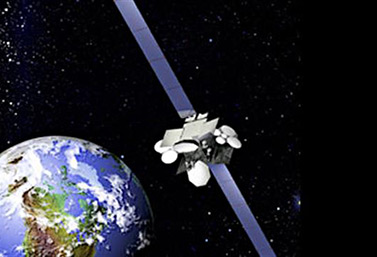 An image of the Anik F2 satellite, which encountered technical problems in 2010 causing serious telecommunication failures in Canada's Far North. (Telesat)