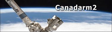 The second-generation Canadarm is 17 metres long. (Canadian Space Agency)