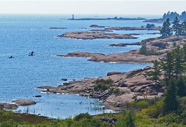 Georgian Bay, in the heart of the Great Lakes (Radio-Canada/Yvon Thériault)