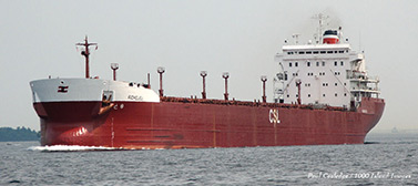 The laker Richelieu on the St. Lawrence Seaway. (Paul Island Cooledge/1000 Image)