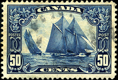 Stamp collectors consider this stamp published in 1929 one of Canada's finest. (WR MacAskill)