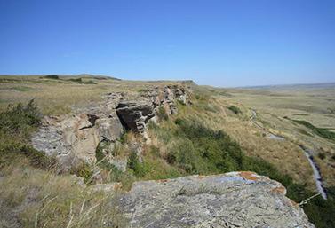 Precipicio de los Bisontes de Head-Smashed-In (UNESCO / Maureen J. Flynn)
