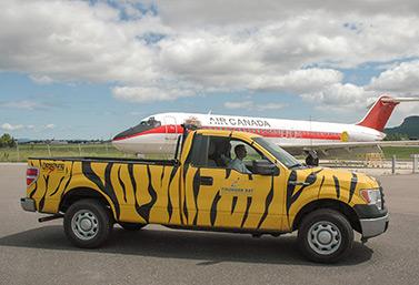 El aeropuerto internacional de Thunder Bay es uno de los 27 principales aeropuertos canadienses. Está situado al norte de la provincia de Ontario. (Presse canadienne)