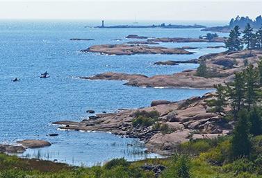 La bahía Georgian en el corazón de los Grandes Lagos (Radio-Canada/ Yvon Thériault)