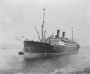 El transatlántico Empress of Ireland (Archivo)