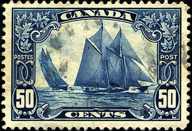 Los coleccionistas considerar este timbre de 1929 como uno de los más bellos de Canadá. (WR MacAskill)
