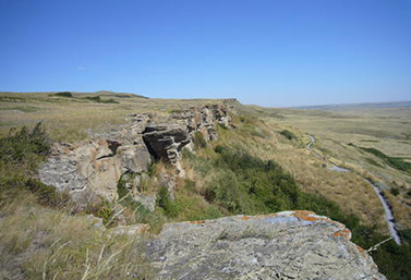 Head-Smashed-In Buffalo Jump  (UNESCO/Maureen J. Flynn)