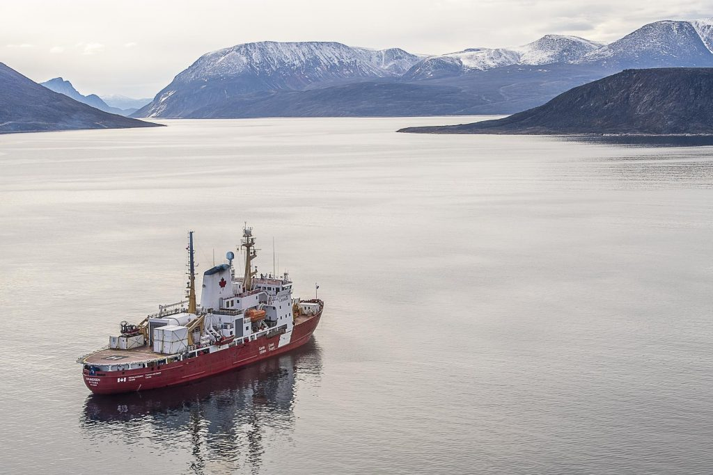 The Canadian icebreaker Amundsen - Government of Canada