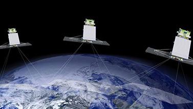 L'Agence spatiale canadienne prévoit envoyer trois satellites Radarsat additionnels en 2016 et en 2017, afin d'offrir une plus grande couverture du pays. (Agence spatiale canadienne)