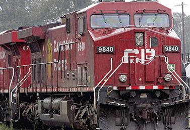 Une locomotive du Canadien Pacifique (Chuck Stoody/Canadian Press)