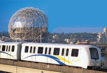 Le Sky Train (Ville de Vancouver)