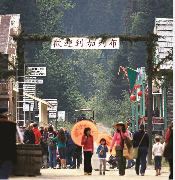 باركرفيل: الصينيّون وحمّى الذهب