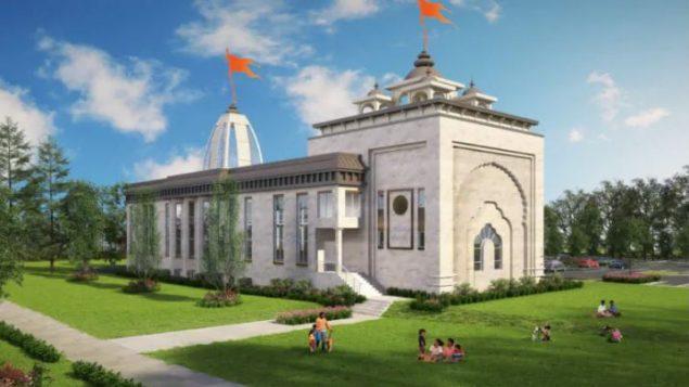 بدء تشييد المعبد الهندوسي الأكثر شمالاً في العالم في ألبرتا