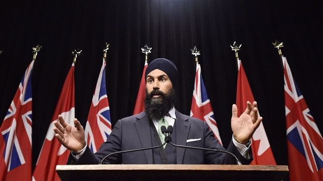 Jagmeet Singh expected to announce run for leadership of federal New Democrats
