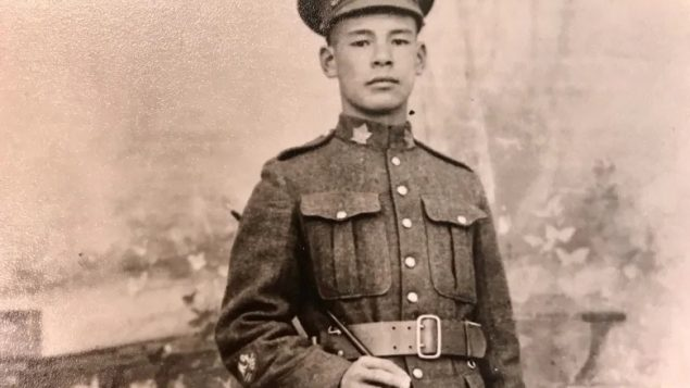 Private Frederick Lee, Canadian soldier WWI