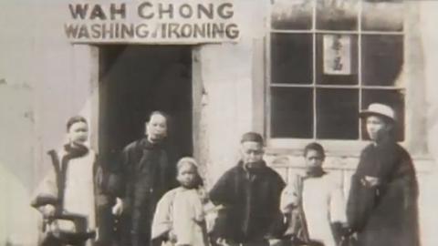 L'histoire de l'arrivée des Chinois pour la construction du chemin de fer