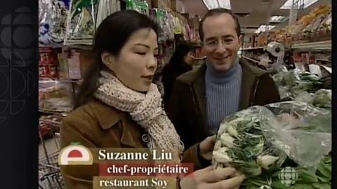 Les légumes chinois et visite d'une épicerie asiatique à Montréal