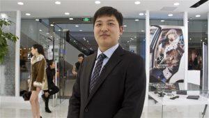 L'entrepreneur chinois Kevin Zhao PHOTO : PHILIPPE GRENIER