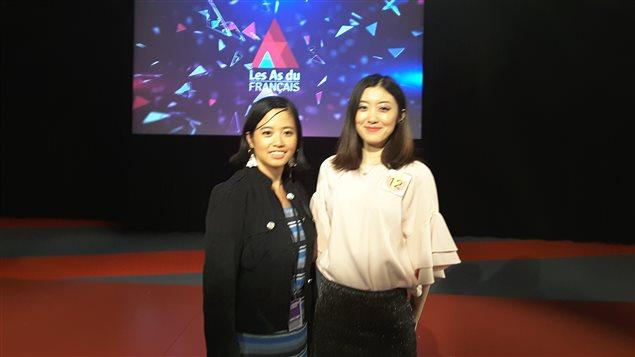 Les As du Français – Deux Chinoises d'ici en finale à CCTV à Pékin en septembre