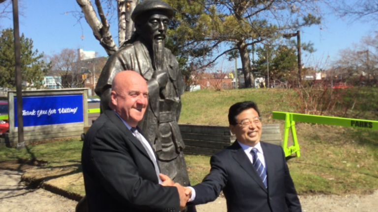 Partenariat entre Thunder Bay en Ontario et Jiaozuo en Chine autour du Tai- chi