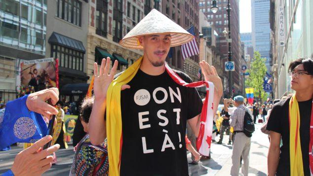 De jeunes vietnamiens de Montréal au Défilé international des cultures de New York