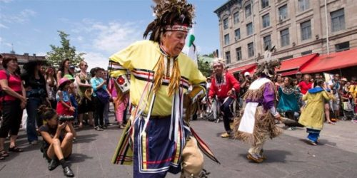 National Aboriginal Day in Canada